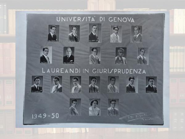 I laureati in Giurisprudenza (anno 1949-50)